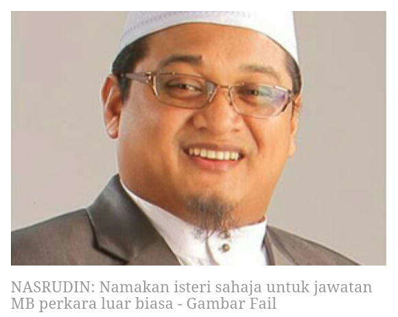 Isu Wanita Jadi Ketua Khilaf Ulama itu BIASA Muktamad Isteri Jadi Ketua itu LUAR BIASA kata MP PAS Temerloh Ustaz Nasrudin