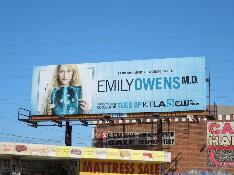 Emily Owens MD billboard