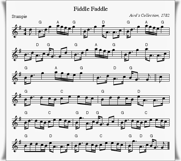 Fiddle Faddle music