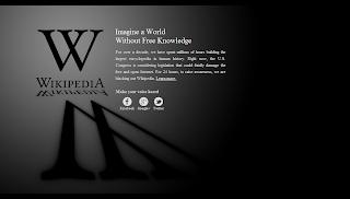 Wikipedia English SOPA