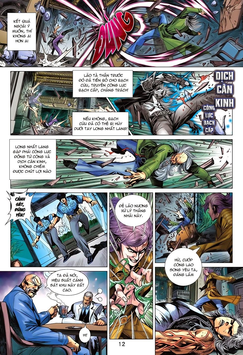 Tân Tác Long Hổ Môn chap 698 - Trang 12