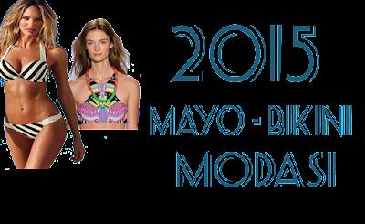 Plaj Modası: 2015 Mayo - Bikini