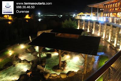 Termas Outariz, Spa, Ourense, Rotemburo madera