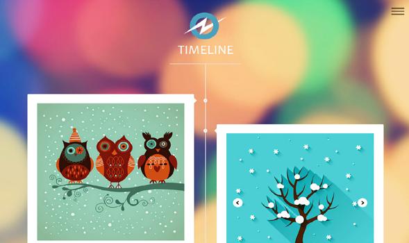 TimeLine-Responsive-Blogger-Template