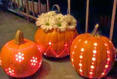 Calabazas decoradas con foami - Como hacer calabazas de halloween ...