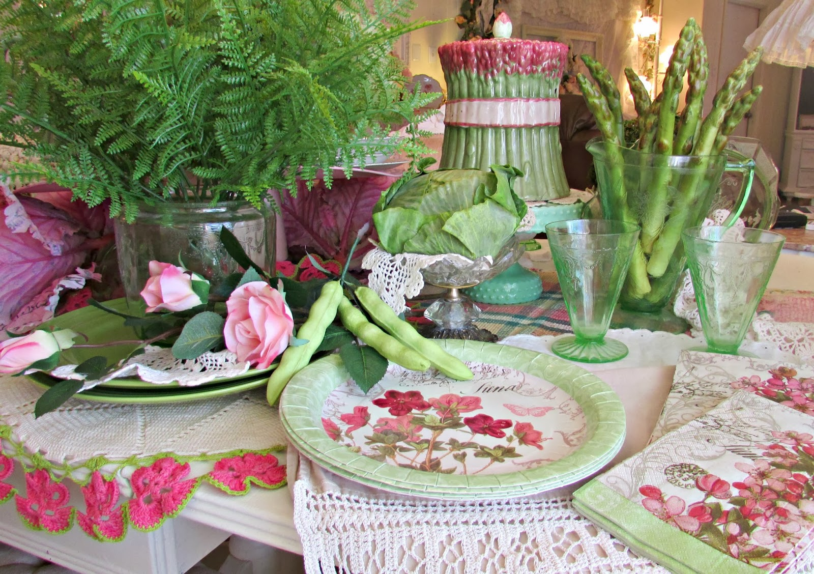 Spring Decorating Idea's @ Penny's Vintage Home