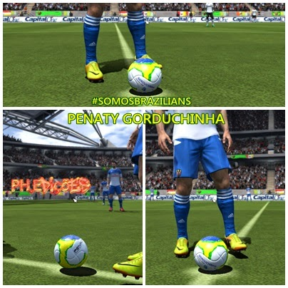 FIFA 14 PC  Bola Penalty Gorduchinha • Brazilians W-Patchs 7bba70f5a71cf