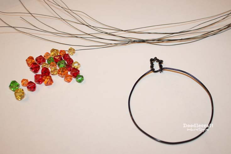 Doodlecraft: Wire Wrapped Autumn Tree of Life Necklace!