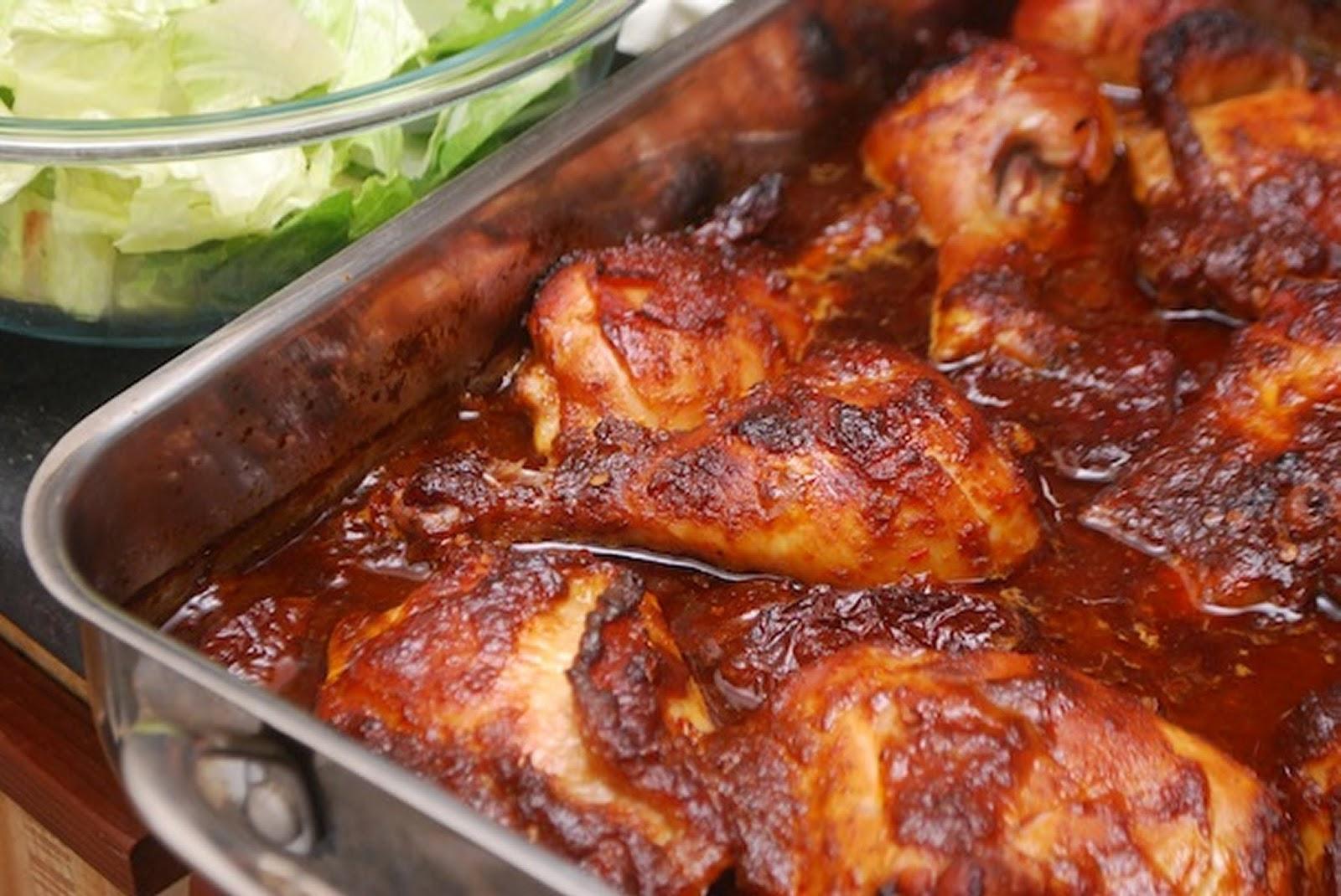 Salud Para Mejor Vida Pollo Enchilado Al Horno