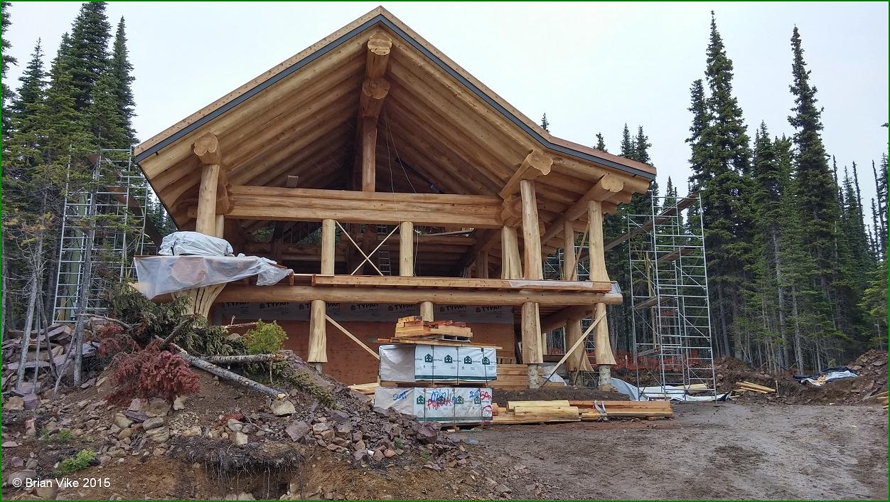 Northern interior british columbia timber kings huge log for Hudson log