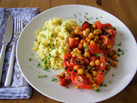 maple•spice: Roasted Mediterranean Vegetable Couscous ...