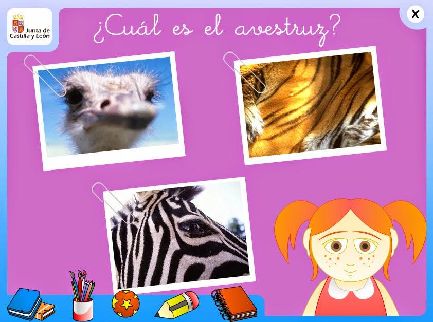 http://www.educa.jcyl.es/educacyl/cm/gallery/Recursos%20Infinity/aplicaciones/animales/cuales1_nivel1.html