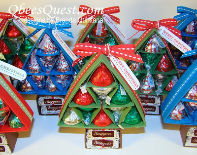 Qbee 39 s quest scored hershey 39 s christmas tree tutorial for Edible christmas gift ideas to make