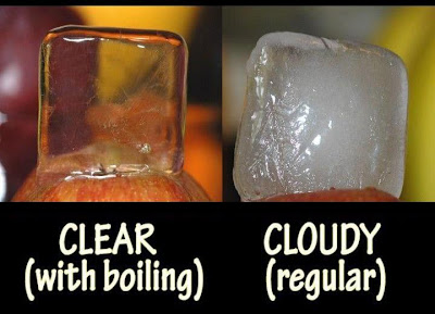 Quick Tip to Make Transparent Crystal Clear Ice