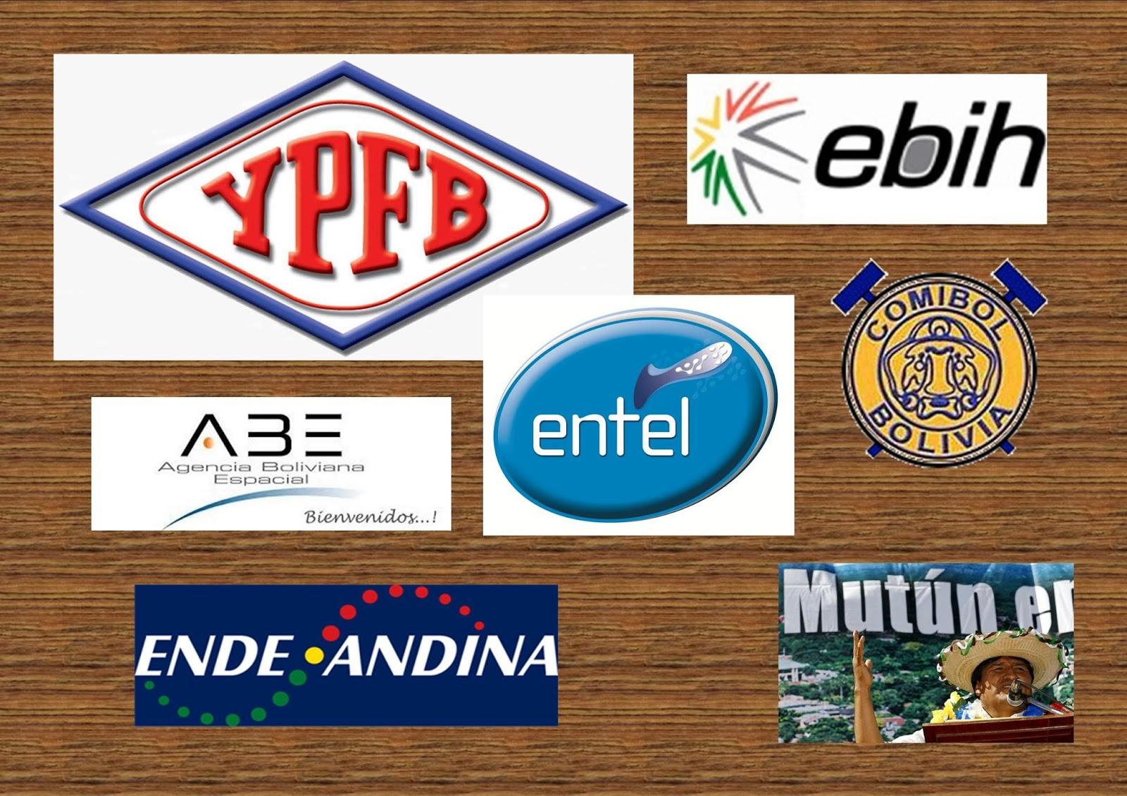 Empresas estatales de Bolivia