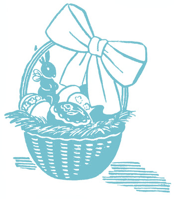 Stock Images  Easter Baskets Eggs Chocolate Bunny