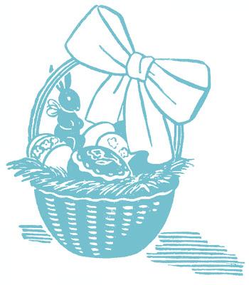 Фото фонда Пасхи корзины яйца шоколадный заяц