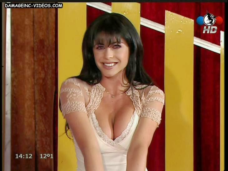 Pamela David busty argentina model on tv