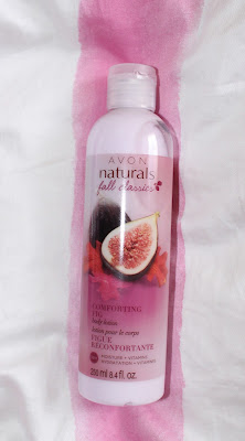 Avon Naturals Comforting Fig Body Lotion