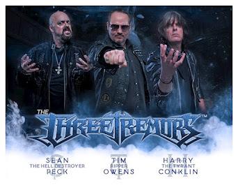 The Three Tremors: Três Monstros, Três Vozes Poderosas, Três Vezes Mais Heavy Metal!