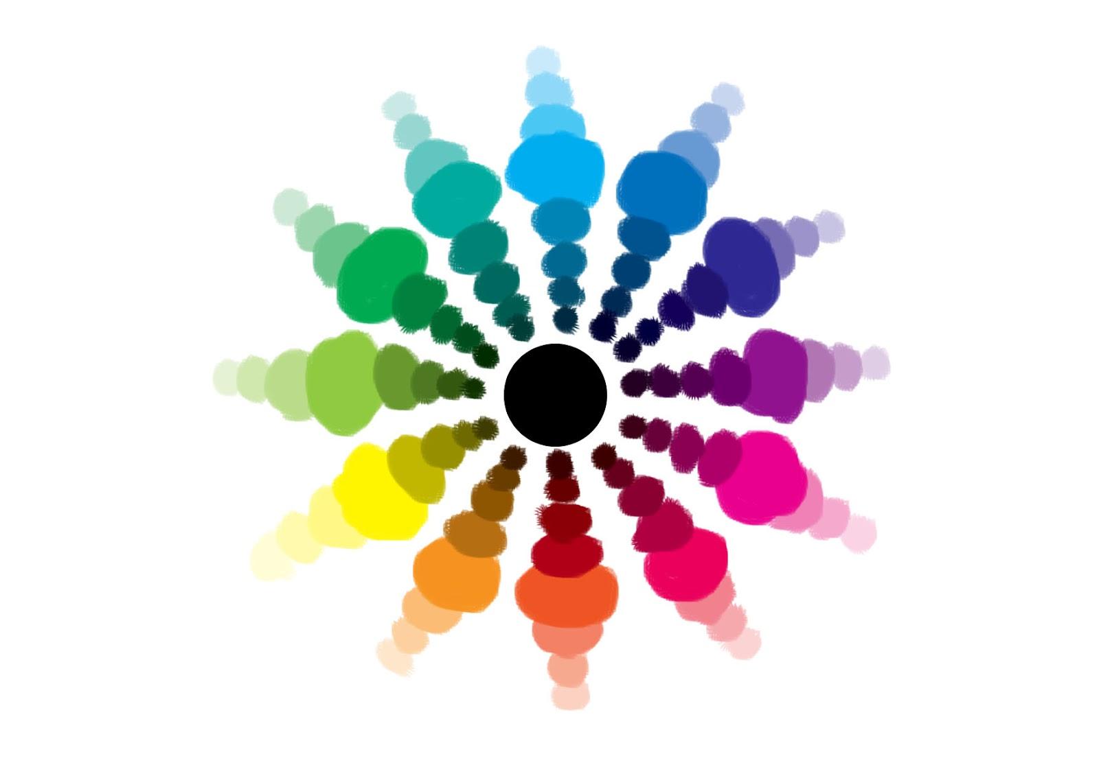 Arts plastiques m petrone 6 me les couleurs for Cercle de couleur chromatique