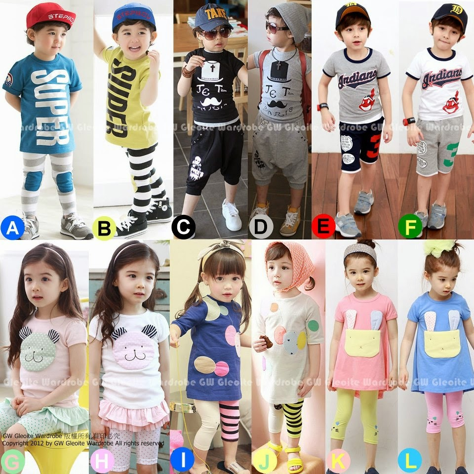 Baju+anak+GW+45+fashion mengenal brand baju anak import,Baju Anak Import China