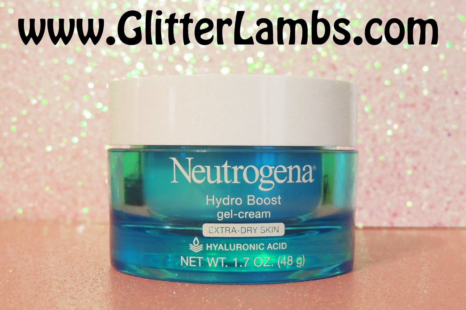 Neutrogena Hydro Boost Gel Cream Hyaluronic Acid Review by Glitter Lambs