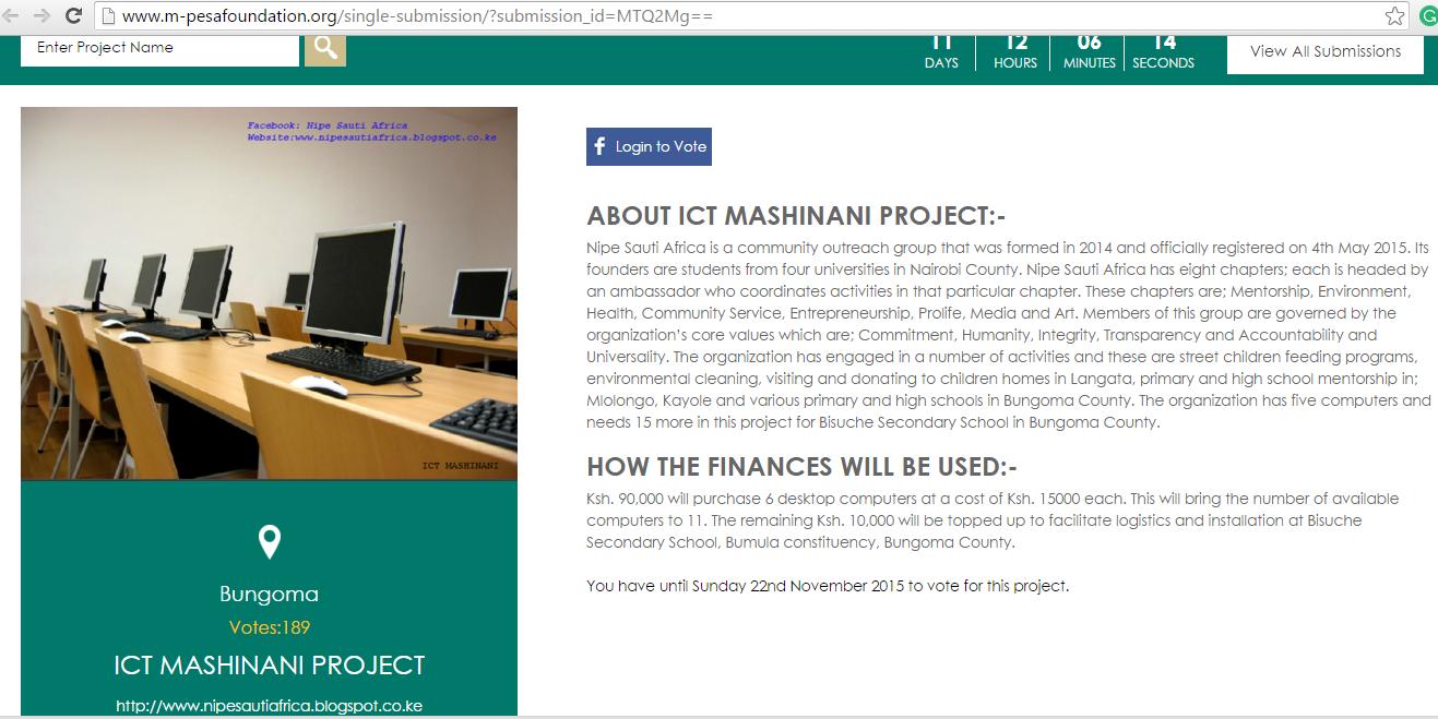 ICT MASHINANI