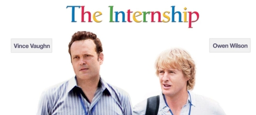 Vince Vaughn co-wrote and stars in THE INTERNSHIP, based on his original story