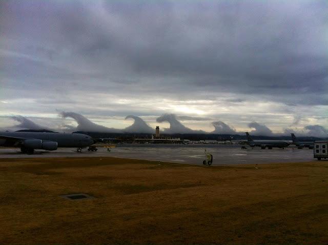 Облака Кельвина-Гельмгольца
