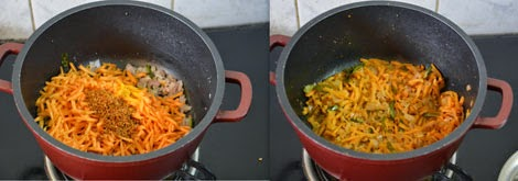 millet carrot rice