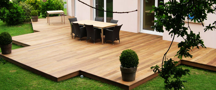 d co ext rieure la construction de la terrasse en bois belgique d co etc. Black Bedroom Furniture Sets. Home Design Ideas