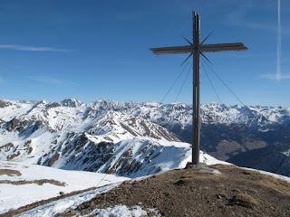 Das Gipfelkreuz des Gaishörndls
