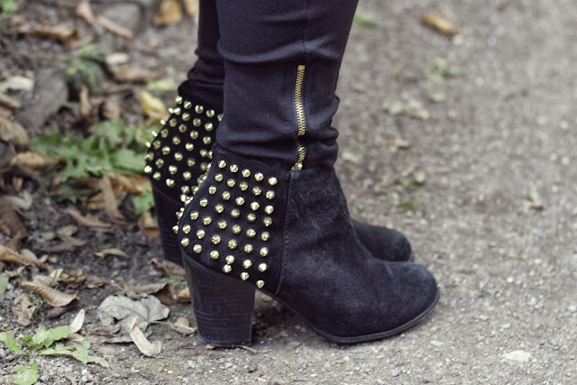 Zara Studed Pistol Boots