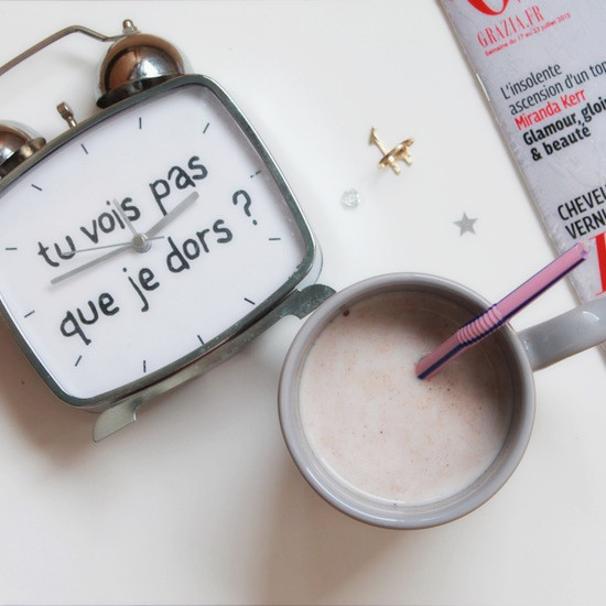 instants-bonheur-lait au chocolat-réveil-girafe-magasine