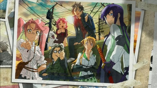 Highschool of the Dead BD Episode 1 - 12 [END] Subtitle Indonesia