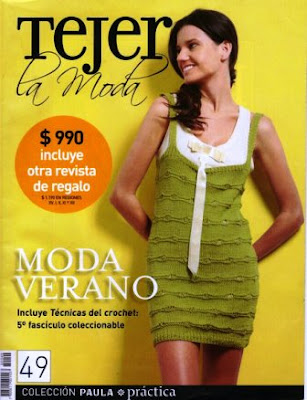 Download - Revista  Crochet Tejer la Moda n. 49