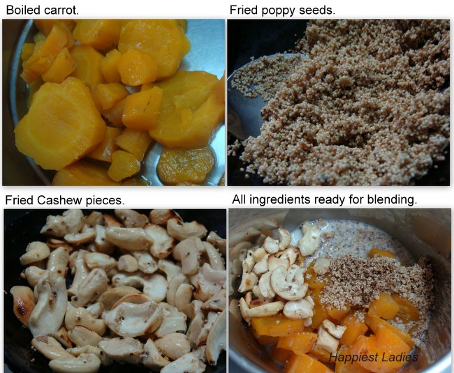 Carrot pudding recipe+cooking
