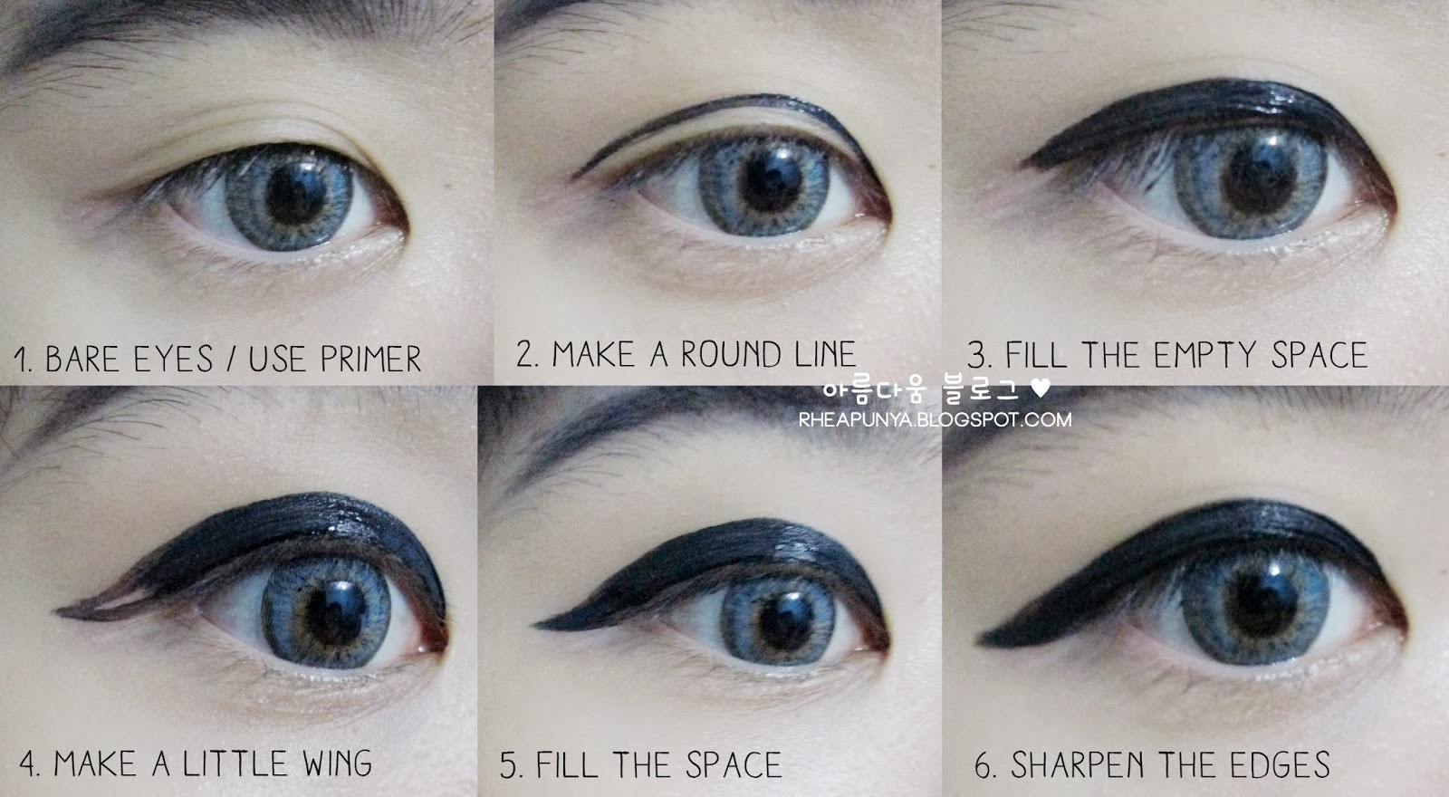 Eyeliner Styles For Asian Eyes I use this kind of eyeliner