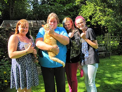 Tigger reunited with his owner
