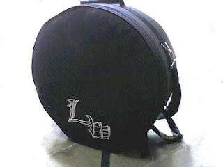 Tas Snare dan Cymbal 14 inch custom bisa tambah logo