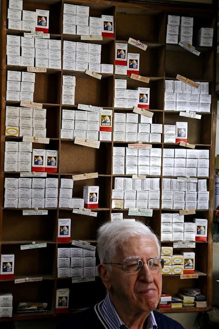 Essence shop, Catania, Sicily,
