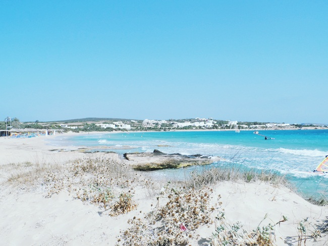 Santa Maria beach,Paros,Greece.Best beaches in Paros.Najbolje plaze Parosa.Santa Maria plaza.Where to go in Paros.Water sports in Paros.Paros travel guide.