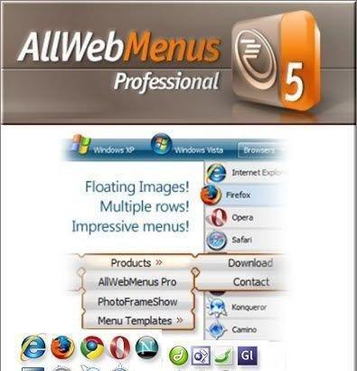AllWebMenus Pro 5.3 Build 908