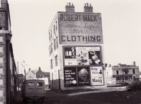 Robert Macks' at the end of Charlotte Street