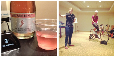 Mocktail Hour with Trek Women, Barefoot Bubbly, and Skinny Runner