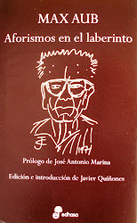 MAX AUB. AFORISMOS EN EL LABERINTO