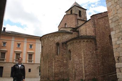 Sant Miquel church in La Seu d'Urgell