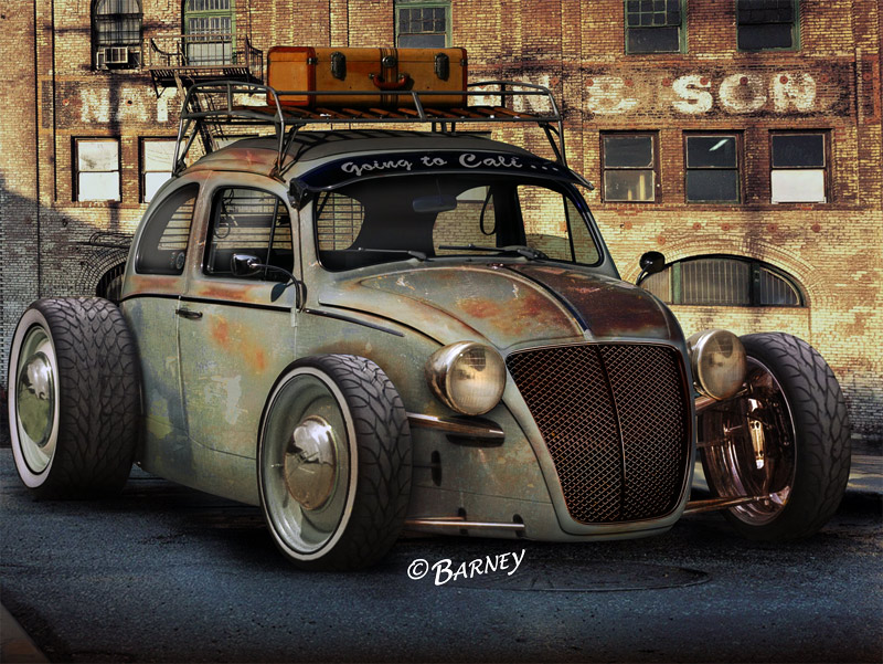 Anybody Into Old VW Bugs