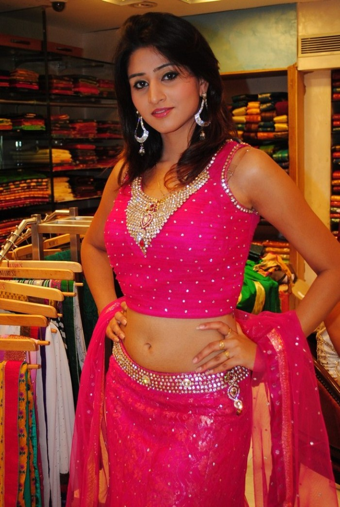 Hyderabad New Sexy Model Shamili Cute Navel Show glamour images